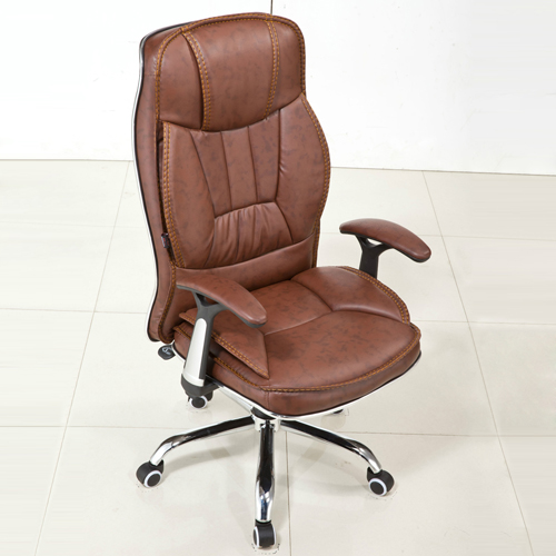 Deluxe Leather Boss Office Chair Image 11