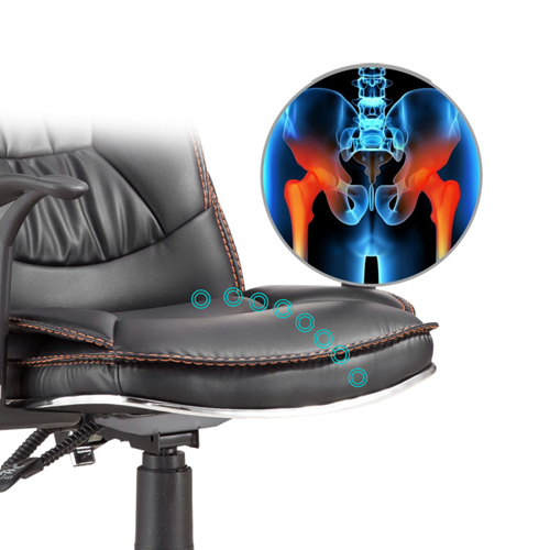 Deluxe Leather Boss Office Chair Image 18