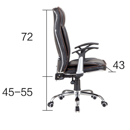 Deluxe Leather Boss Office Chair Image 20