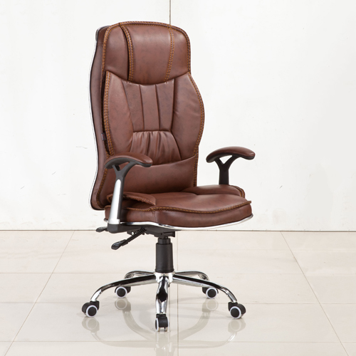 Deluxe Leather Boss Office Chair Image 1