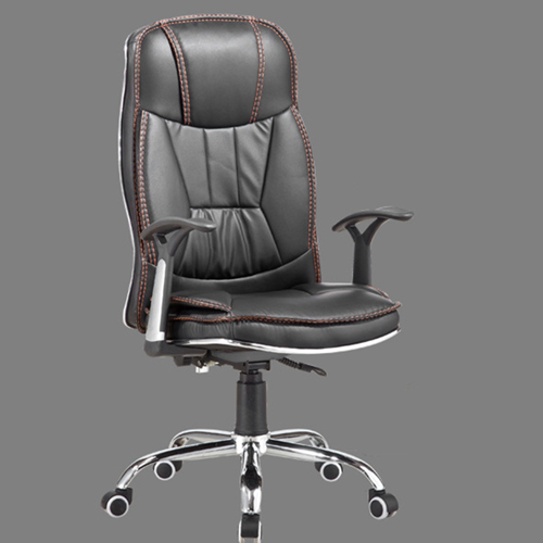 Deluxe Leather Boss Office Chair Image 2
