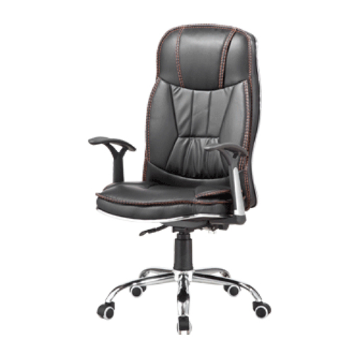Deluxe Leather Boss Office Chair Image 3