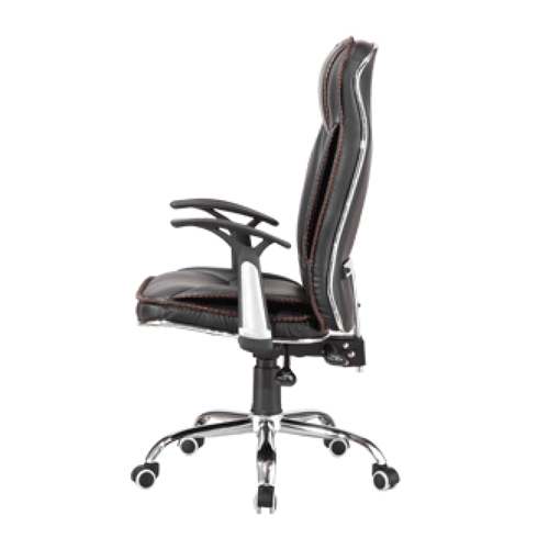 Deluxe Leather Boss Office Chair Image 4
