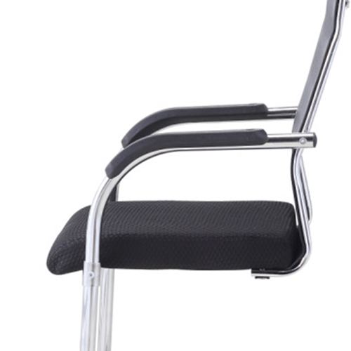 Modern Cantilever Mesh Chair Image 10