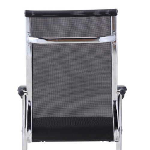 Modern Cantilever Mesh Chair Image 11