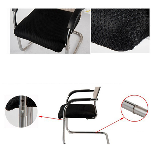 Modern Cantilever Mesh Chair Image 16