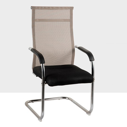 Modern Cantilever Mesh Chair Image 3