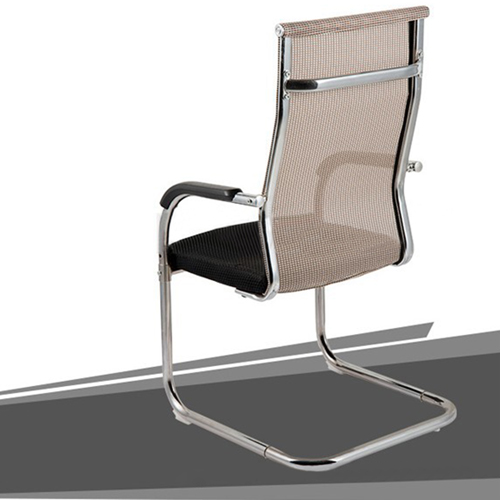 Modern Cantilever Mesh Chair Image 4