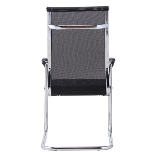 Modern Cantilever Mesh Chair Image 7