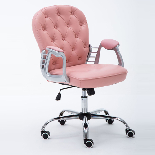 Modern Low Backrest Leisure Chair With Tilt Function Image 9