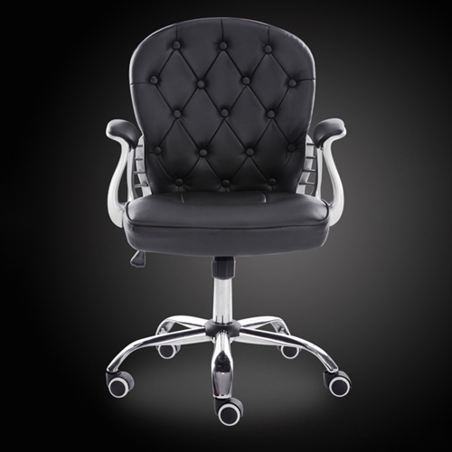 Modern Low Backrest Leisure Chair With Tilt Function Image 10