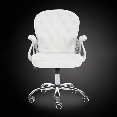 Modern Low Backrest Leisure Chair With Tilt Function Image 11
