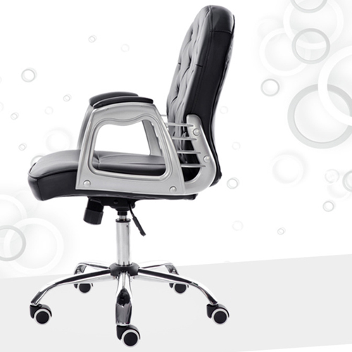 Modern Low Backrest Leisure Chair With Tilt Function Image 12