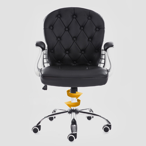 Modern Low Backrest Leisure Chair With Tilt Function Image 14