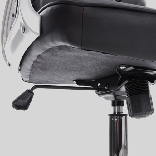 Modern Low Backrest Leisure Chair With Tilt Function Image 16