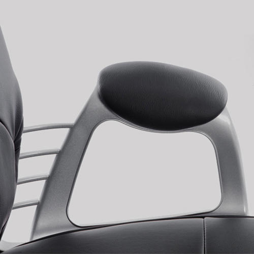 Modern Low Backrest Leisure Chair With Tilt Function Image 17