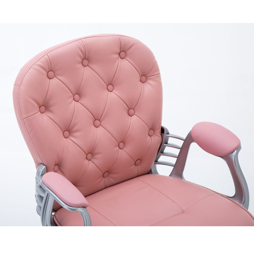 Modern Low Backrest Leisure Chair With Tilt Function Image 20