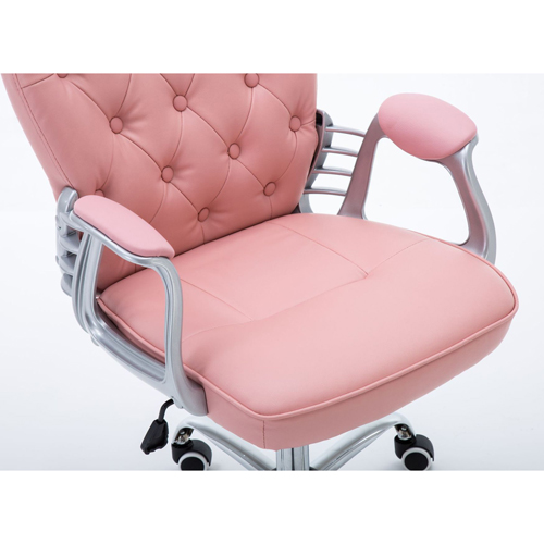 Modern Low Backrest Leisure Chair With Tilt Function Image 22