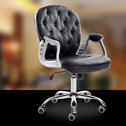 Modern Low Backrest Leisure Chair With Tilt Function