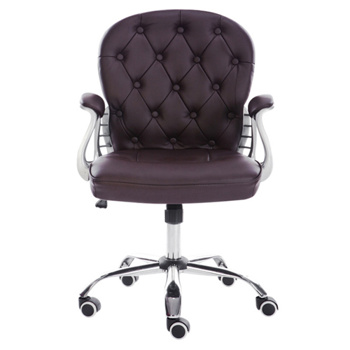 Modern Low Backrest Leisure Chair With Tilt Function Image 5