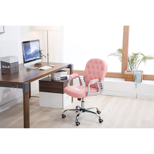 Modern Low Backrest Leisure Chair With Tilt Function Image 6
