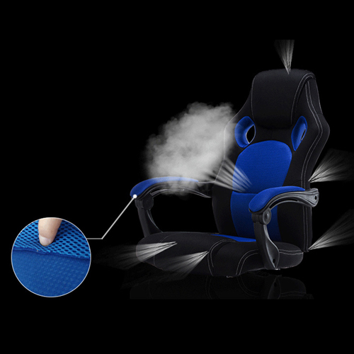 Racing Style Reclining Chair with Lumbar Cushion Image 11