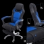 Racing Style Reclining Chair with Lumbar Cushion Image 5