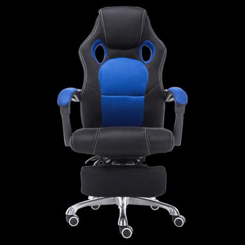 Racing Style Reclining Chair with Lumbar Cushion Image 7