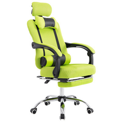 Breathable High-Back Armchair With Footrest Image 10
