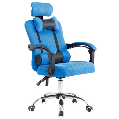 Breathable High-Back Armchair With Footrest Image 4