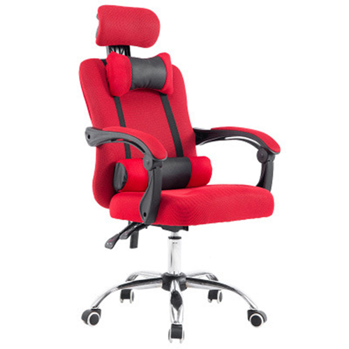 Breathable High-Back Armchair With Footrest Image 6