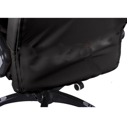 Reclining High Back Office Chair With Adjustable Arms Image 10