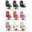 Reclining High Back Office Chair With Adjustable Arms Image 5