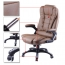 Reclining High Back Office Chair With Adjustable Arms Image 7