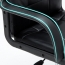 Chrome Base Leather Office Armchair Image 12