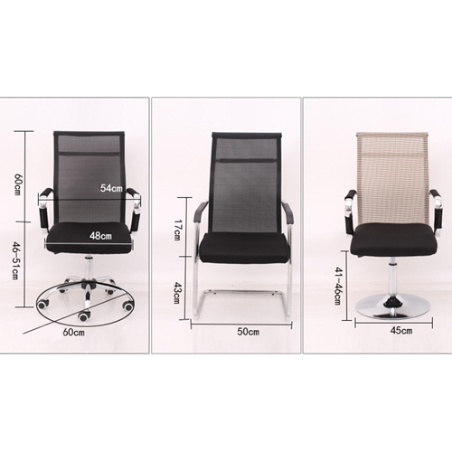 Nano Mesh Lining Office Chair Image 11