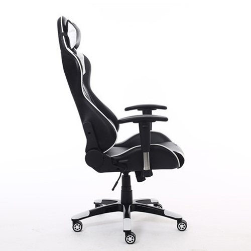 Executive Leather Racer Gaming With Lumbar Pillow Image 15