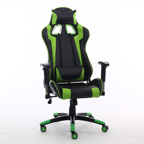 Executive Leather Racer Gaming With Lumbar Pillow Image 16