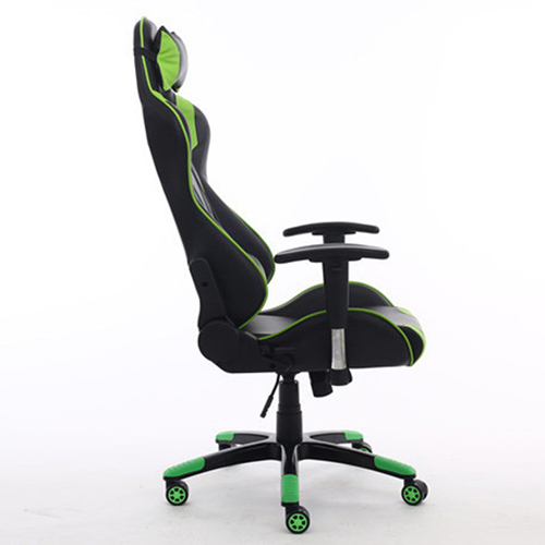Executive Leather Racer Gaming With Lumbar Pillow Image 17
