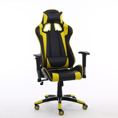 Executive Leather Racer Gaming With Lumbar Pillow Image 18