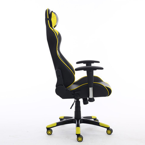 Executive Leather Racer Gaming With Lumbar Pillow Image 19