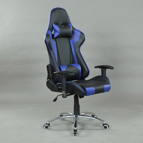 Executive Leather Racer Gaming With Lumbar Pillow Image 20