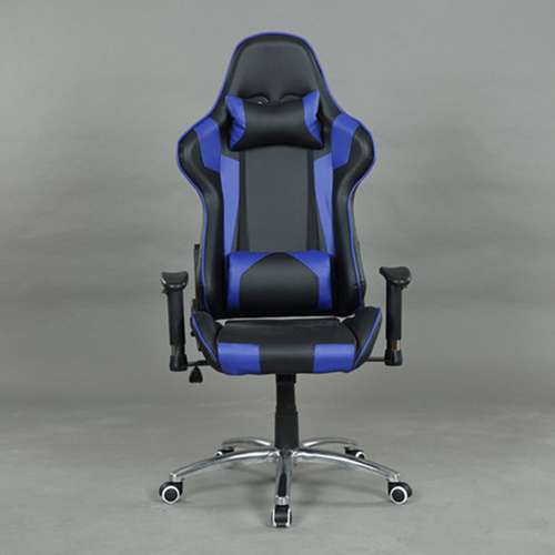 Executive Leather Racer Gaming With Lumbar Pillow Image 21