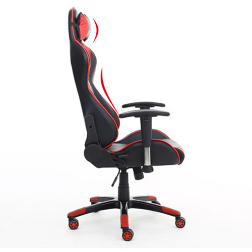 Executive Leather Racer Gaming With Lumbar Pillow Image 22