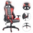 Executive Leather Racer Gaming With Lumbar Pillow Image 23
