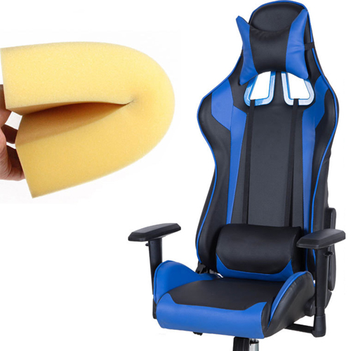 Executive Leather Racer Gaming With Lumbar Pillow Image 26