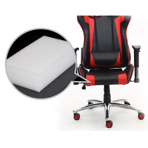 Executive Leather Racer Gaming With Lumbar Pillow Image 28