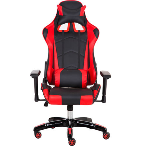 Executive Leather Racer Gaming With Lumbar Pillow Image 1