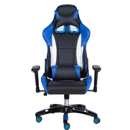 Executive Leather Racer Gaming With Lumbar Pillow Image 3