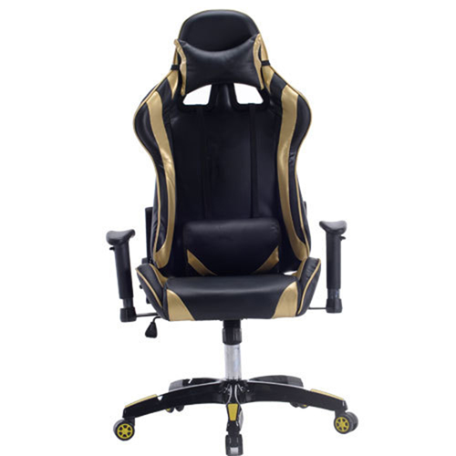 Executive Leather Racer Gaming With Lumbar Pillow Image 5